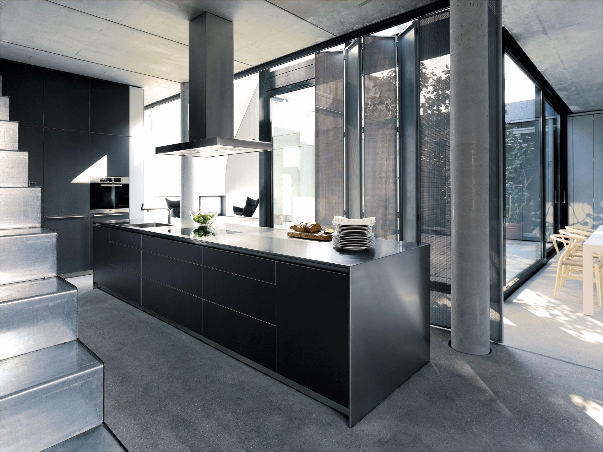 votre cuisine contemporaine par lluck. Black Bedroom Furniture Sets. Home Design Ideas